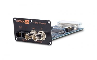 Cymatic Audio announces MADI expansion module for uTrack24