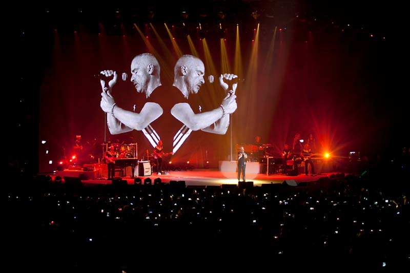 uTrack24 takes centre stage on Ramazzotti's world tour