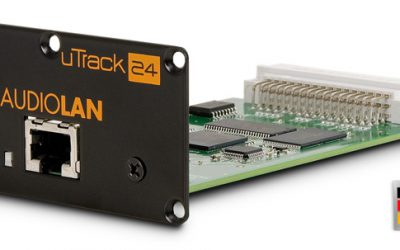 AUDIOLAN OPTION CARD FOR UTRACK24
