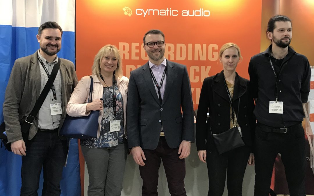 Cymatic Audio reinforces international distribution network with Konsbud Audio