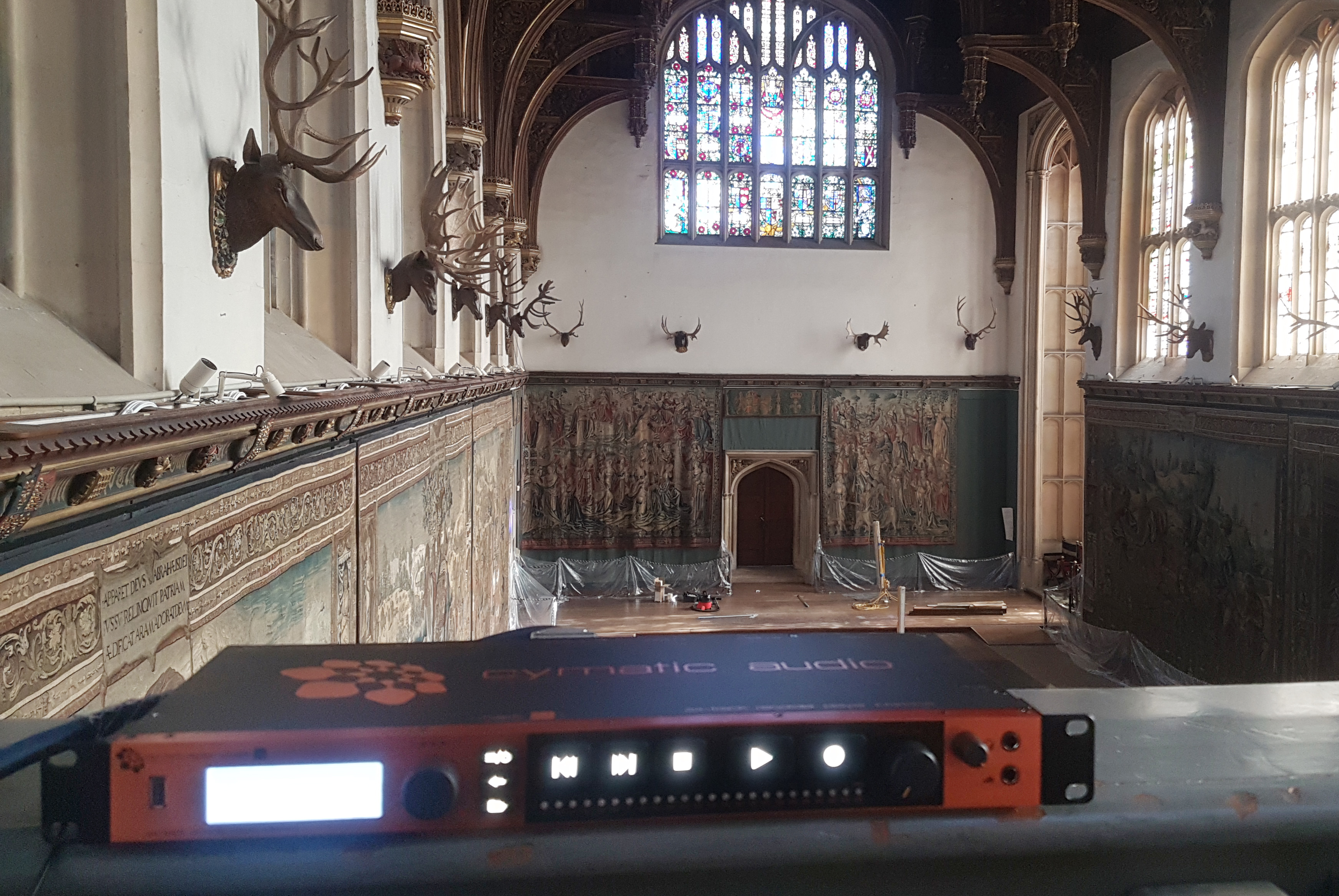 Cymatic Audio Hampton Court 2