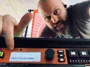 Twelve foot ninja Cymatic audio